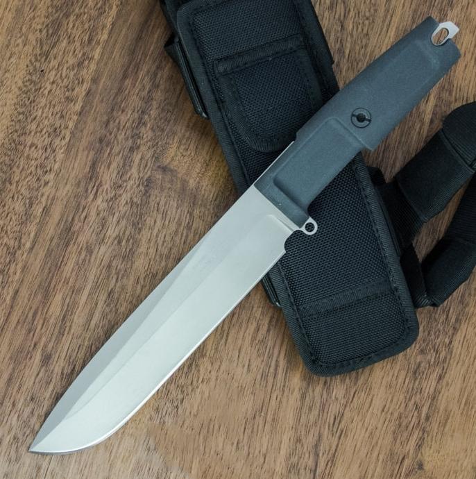 Фото 7 - Нож с фиксированным клинком Extrema Ratio TFDE 19 Sandblasted, сталь Bhler N690, рукоять прорезиненный форпрен