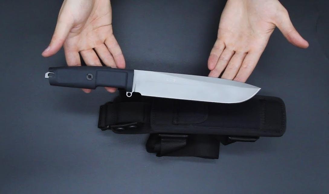 Фото 9 - Нож с фиксированным клинком Extrema Ratio TFDE 19 Sandblasted, сталь Bhler N690, рукоять прорезиненный форпрен