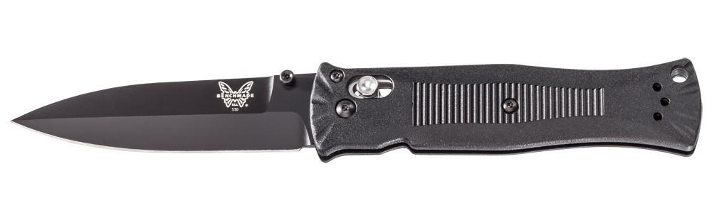 Фото 2 - Складной нож Benchmade 530BK Pardue Black, сталь 154CM, рукоять пластик