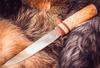 Якутский большой нож, карельская береза - Nozhikov.ru