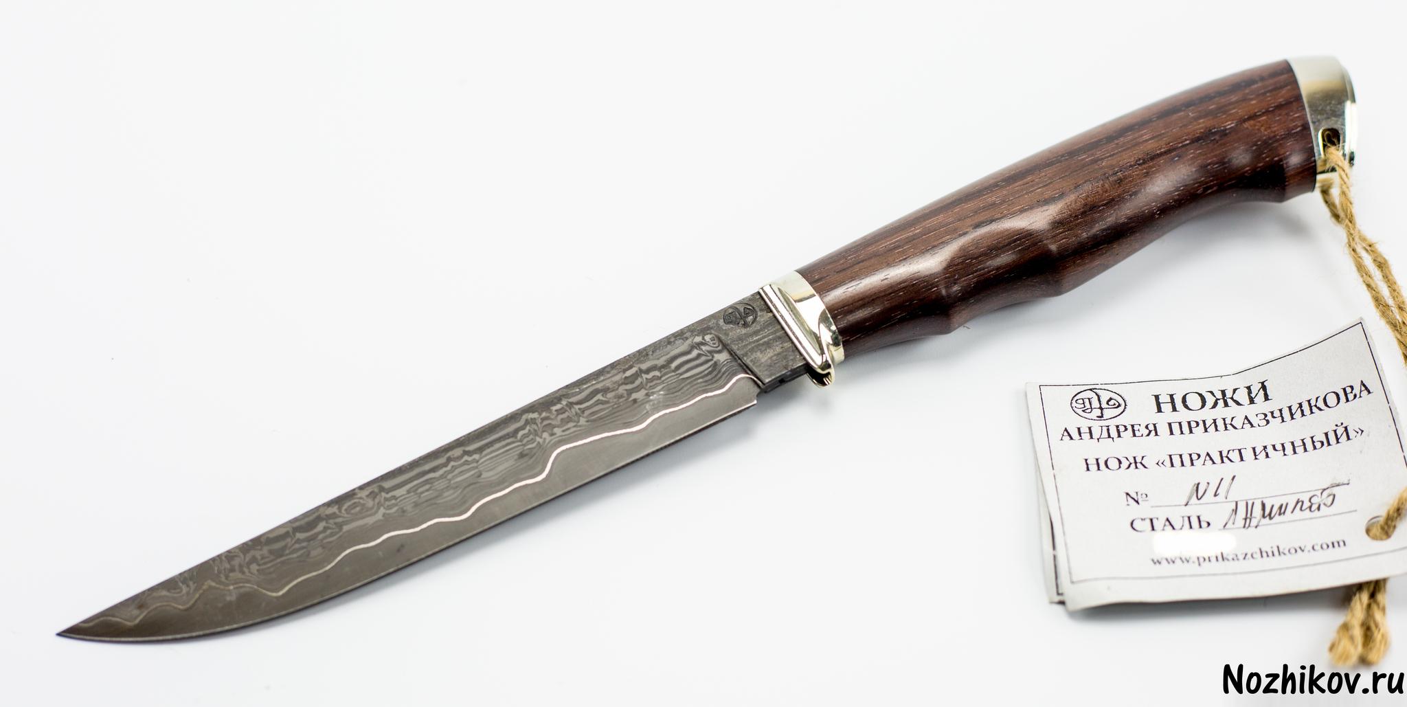 Нож Практичный №11 из Ламината, от Приказчикова шапка rocawear base head white