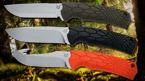 Нож Fox Core Fixed Skinner orange FX-607