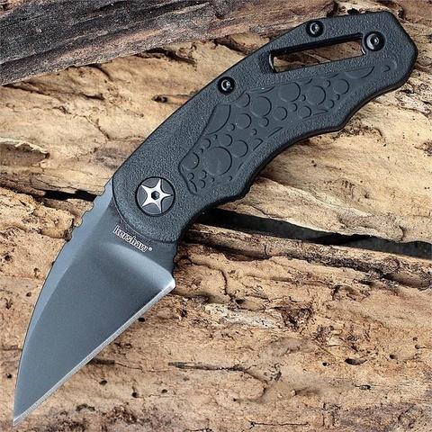 Складной нож Decoy KERSHAW 4700, сталь 3Cr13, рукоять термопластик GFN с прорезиненными вставками. Вид 9