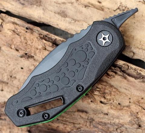 Складной нож Decoy KERSHAW 4700, сталь 3Cr13, рукоять термопластик GFN с прорезиненными вставками. Вид 12