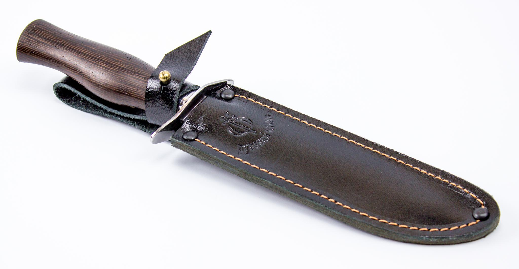 Фото 5 - Нож разведчика НР-40, 65Г, венге от Фабрика Баринова