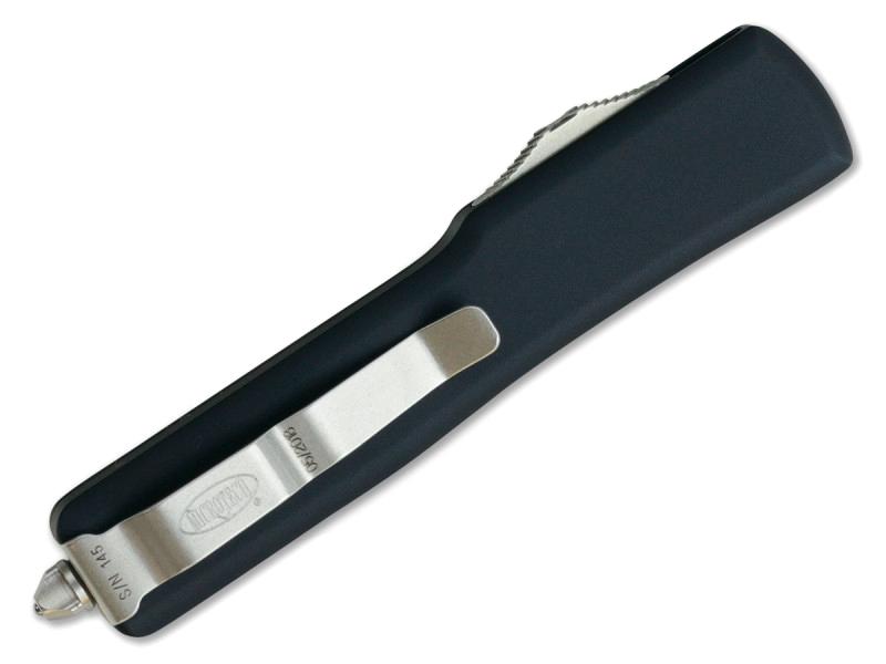 Фото 8 - Автоматический выкидной нож Microtech UTX-70 S/E MT_148-4, сталь CTS-204P, рукоять алюминий