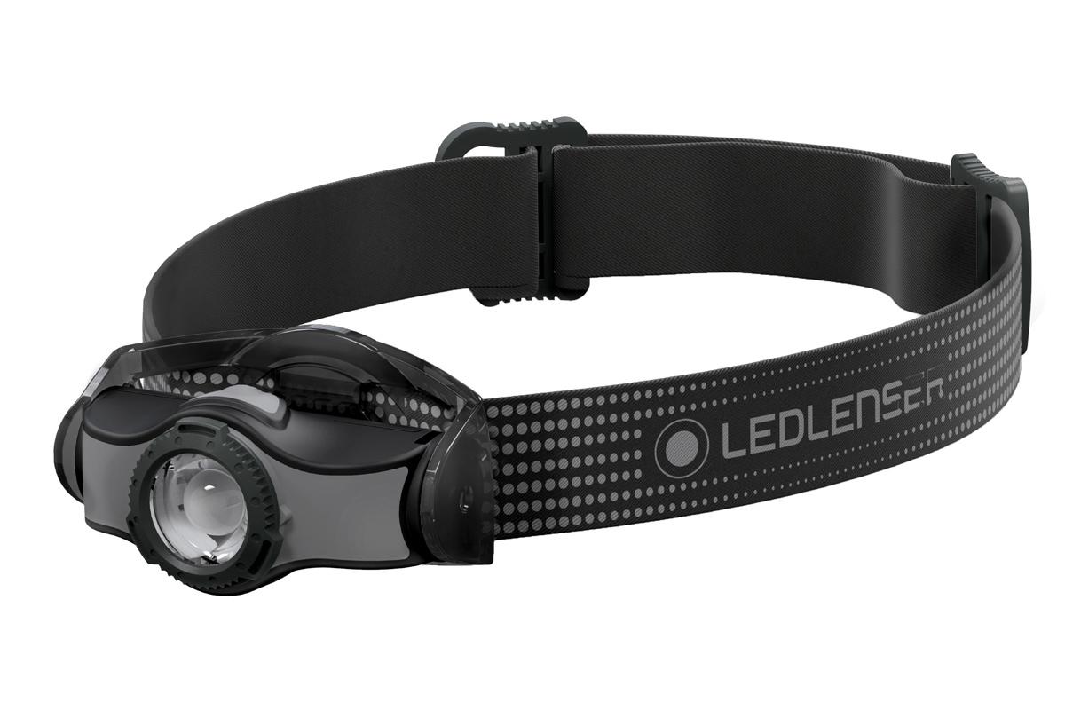 Фонарь светодиодный налобный LED Lenser MH5, черный, 400 лм, аккумулятор фонарь светодиодный налобный led lenser neo4 синий 240 лм 3 ааа