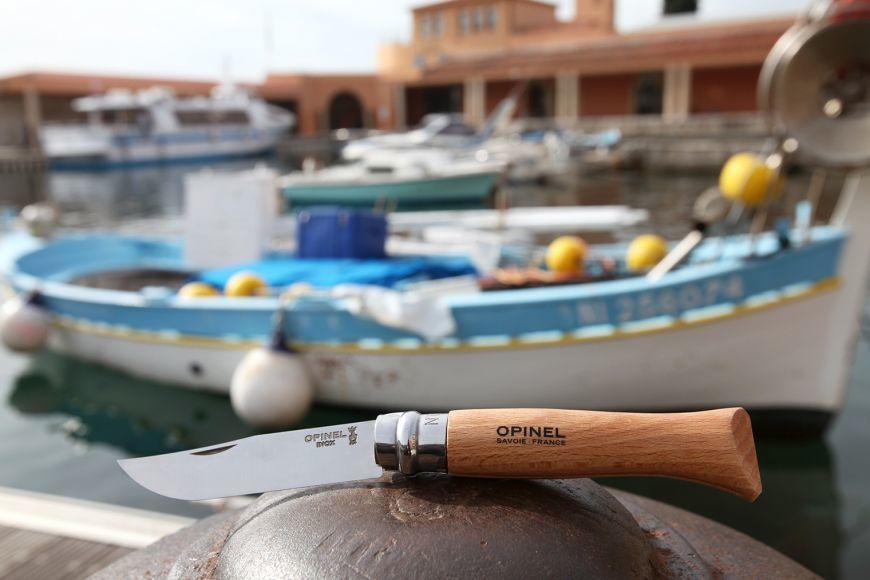 Фото 4 - Нож складной Opinel №7 VRI Inox, сталь 12C27, рукоять бук