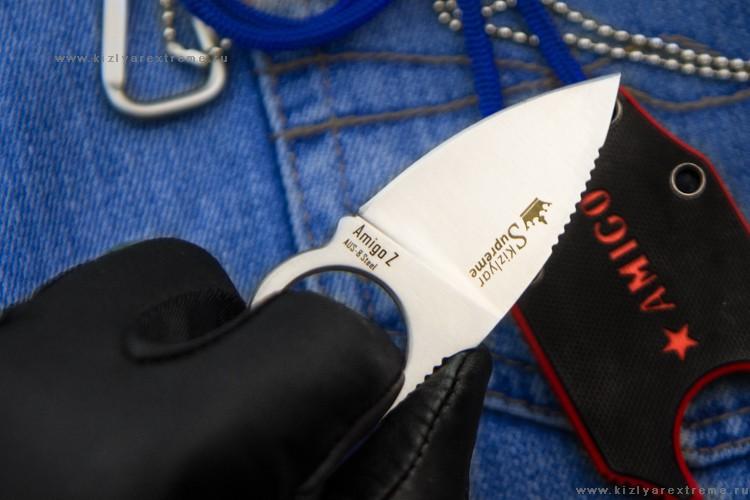 Фото 7 - Шейный нож Amigo Z Aus-8 S, Кизляр от Kizlyar Supreme