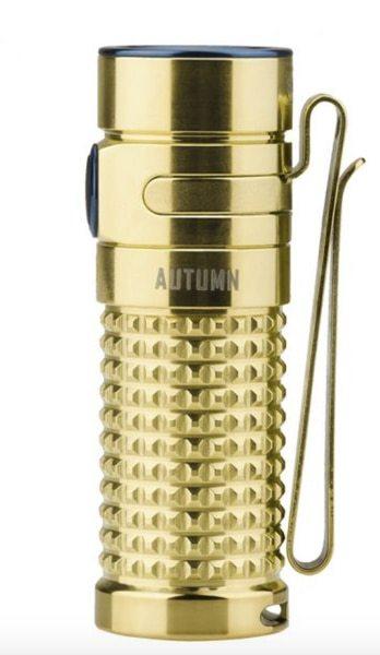 цена на Фонарь Olight S1R II Ti Autumn Yellow gold PVD titanium