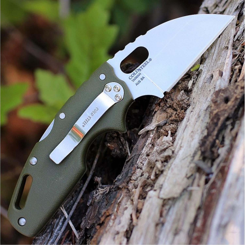 Фото 4 - Складной нож Tuff Green, AUS-8A, зеленый от Cold Steel