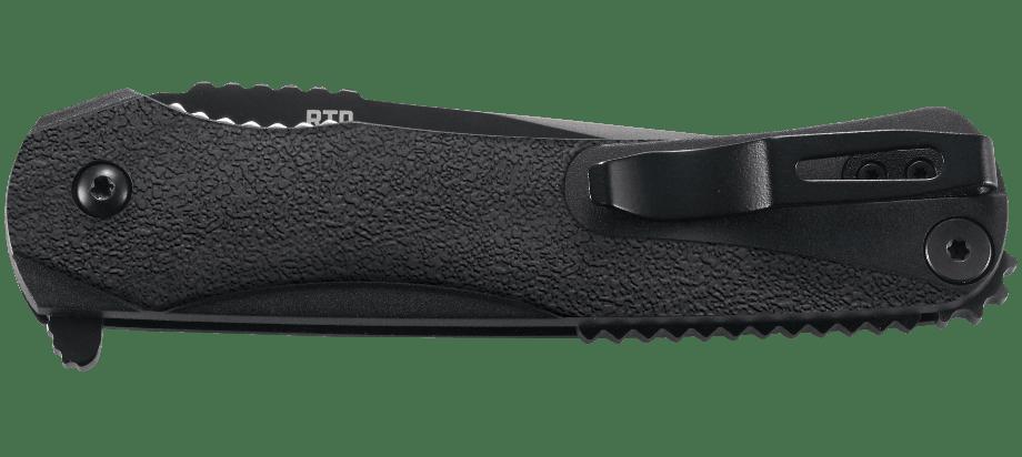 Фото 10 - Складной нож CRKT R4801K Ruger Knives RTD, сталь 1.4116 (X50CrMoV15) Black Finish, термопластик GRN