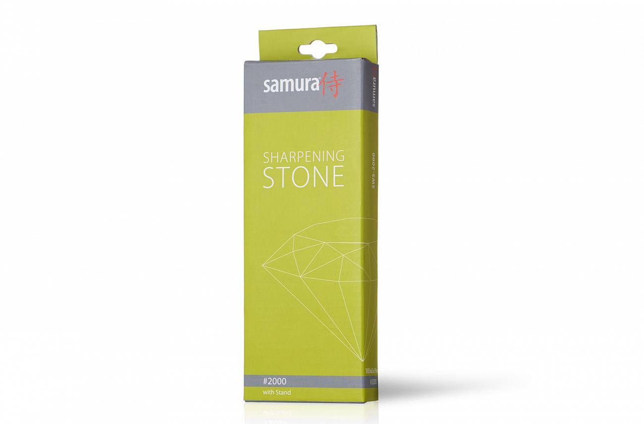 Фото 4 - Камень точильный Samura водный однослойный #2000, SWS-2000