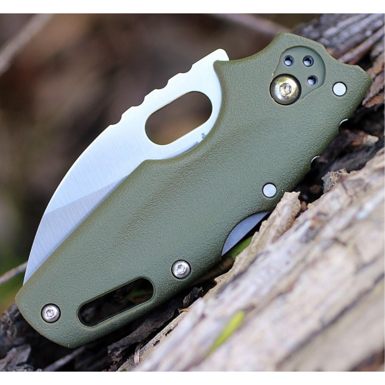 Фото 5 - Складной нож Tuff Green, AUS-8A, зеленый от Cold Steel