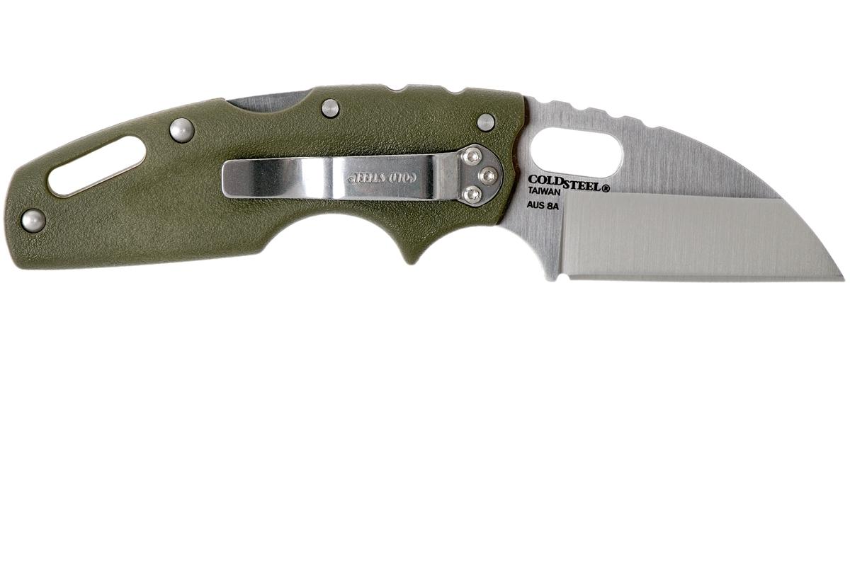 Фото 8 - Складной нож Tuff Green, AUS-8A, зеленый от Cold Steel