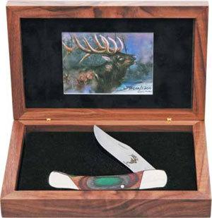 Фото 2 - Складной нож Bear & Son, Wildlife, S297SELK, в подарочной упаковке