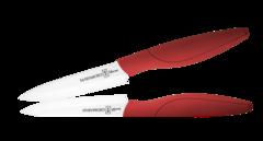 Керамический нож Hatamoto Home, 110мм, красный
