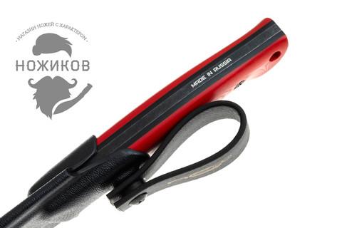 Нож Pride Red Black S/W, сталь D2, Limited Edition NOZHIKOV