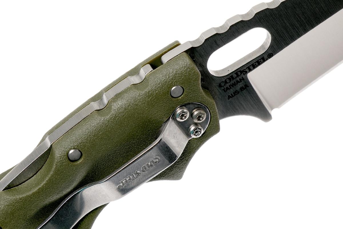 Фото 12 - Складной нож Tuff Green, AUS-8A, зеленый от Cold Steel