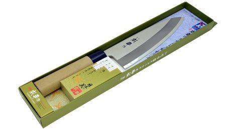 Нож Деба Narihira Tojiro, 180 мм, сталь AUS-8, рукоять дерево. Вид 3