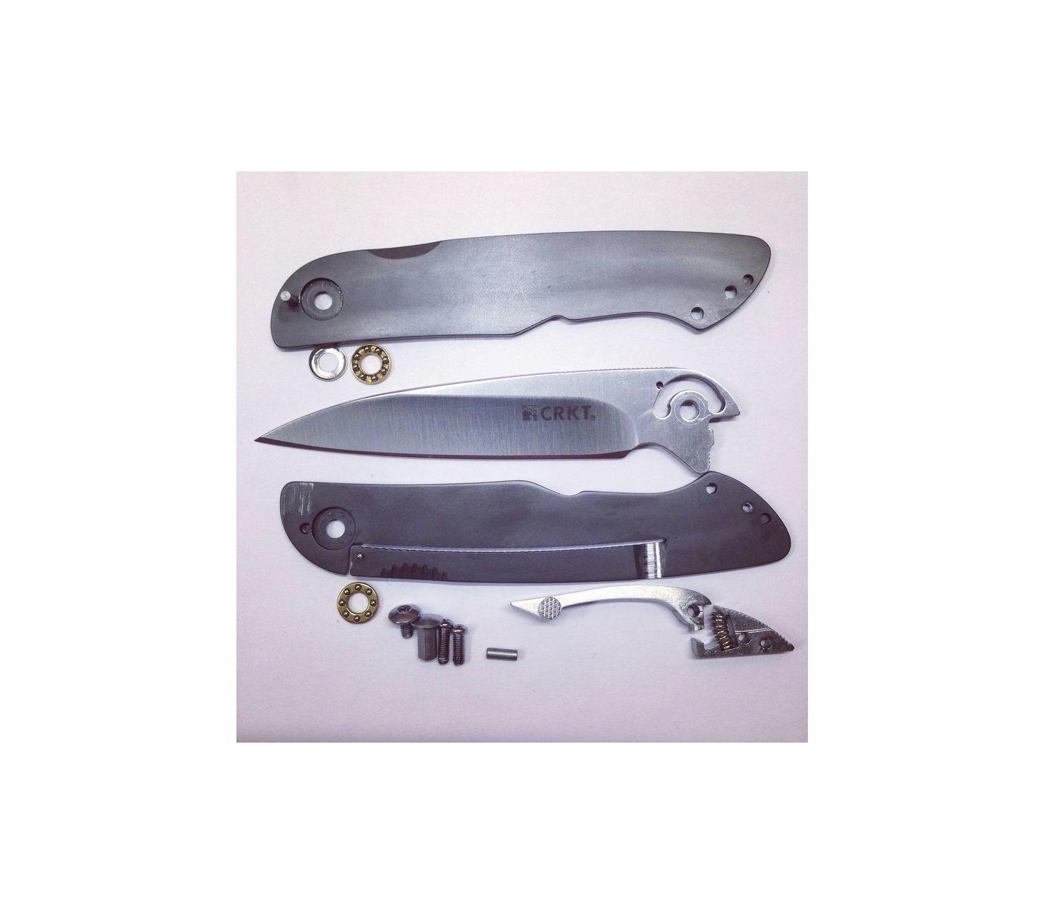 Фото 13 - Складной нож CRKT Swindle™-2, сталь 8Cr14MoV, рукоять нержавеющая сталь