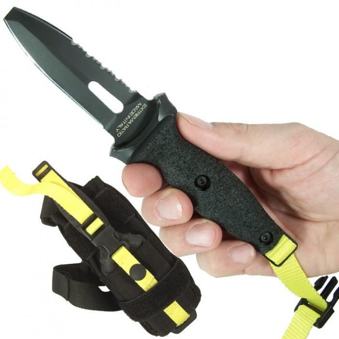 Фото 8 - Нож ныряльщика Extrema Ratio Dicok Diving Compact, сталь Bhler N690, рукоять полиамид