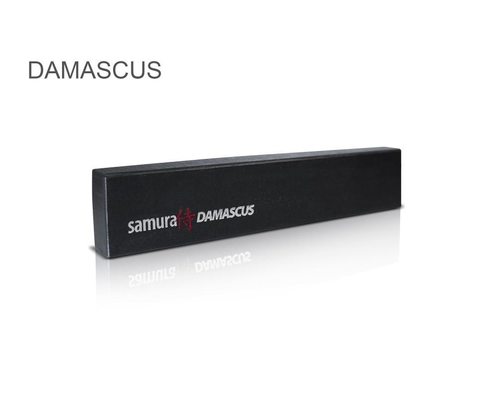 Фото 6 - Нож кухонный Сантоку Samura Damascus SD-0092/Y, сталь VG-10/дамаск, рукоять G-10