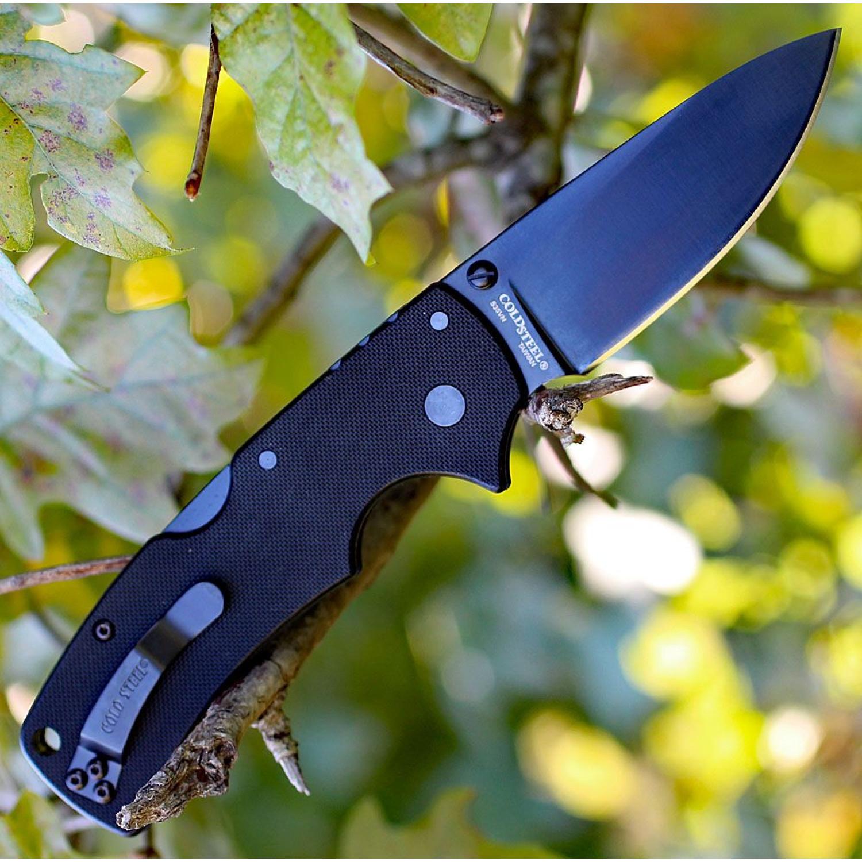 Фото 5 - Складной нож American Lawman - Cold Steel 58B, сталь CPM-S35VN, рукоять G10