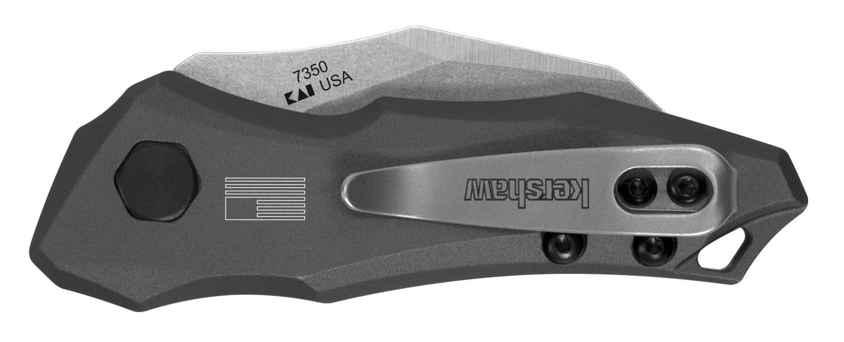 Фото 2 - Полуавтоматический складной нож Launch 10 Kershaw 7350, сталь CPM 154