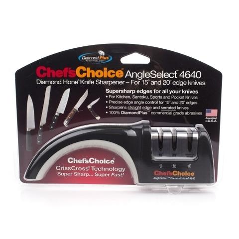 Механическая точилка для заточки ножей  Chef'sChoice 4640. Вид 5