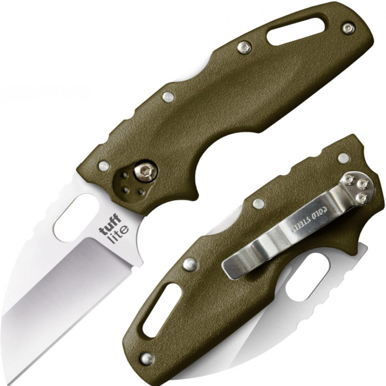 Фото 3 - Складной нож Tuff Green, AUS-8A, зеленый от Cold Steel