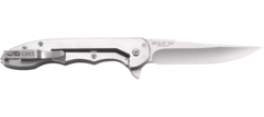 Складной нож CRKT 7076 - Up & At 'Em, сталь 8Cr13MoV, рукоять нержавеющая сталь, фото 6