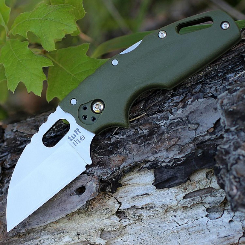 Фото 6 - Складной нож Tuff Green, AUS-8A, зеленый от Cold Steel