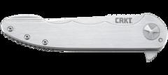 Складной нож CRKT 7076 - Up & At 'Em, сталь 8Cr13MoV, рукоять нержавеющая сталь, фото 8
