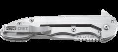 Складной нож CRKT 7076 - Up & At 'Em, сталь 8Cr13MoV, рукоять нержавеющая сталь, фото 9