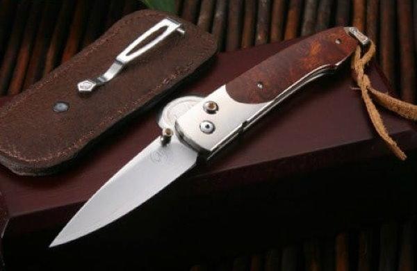 Складной нож William Henry B10 Lancet, сталь ZDP-189, рукоять титан