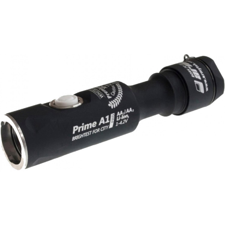 Фонарь светодиодный Armytek Prime A1 Pro v3, 560 лм, теплый свет, 1-AA фото