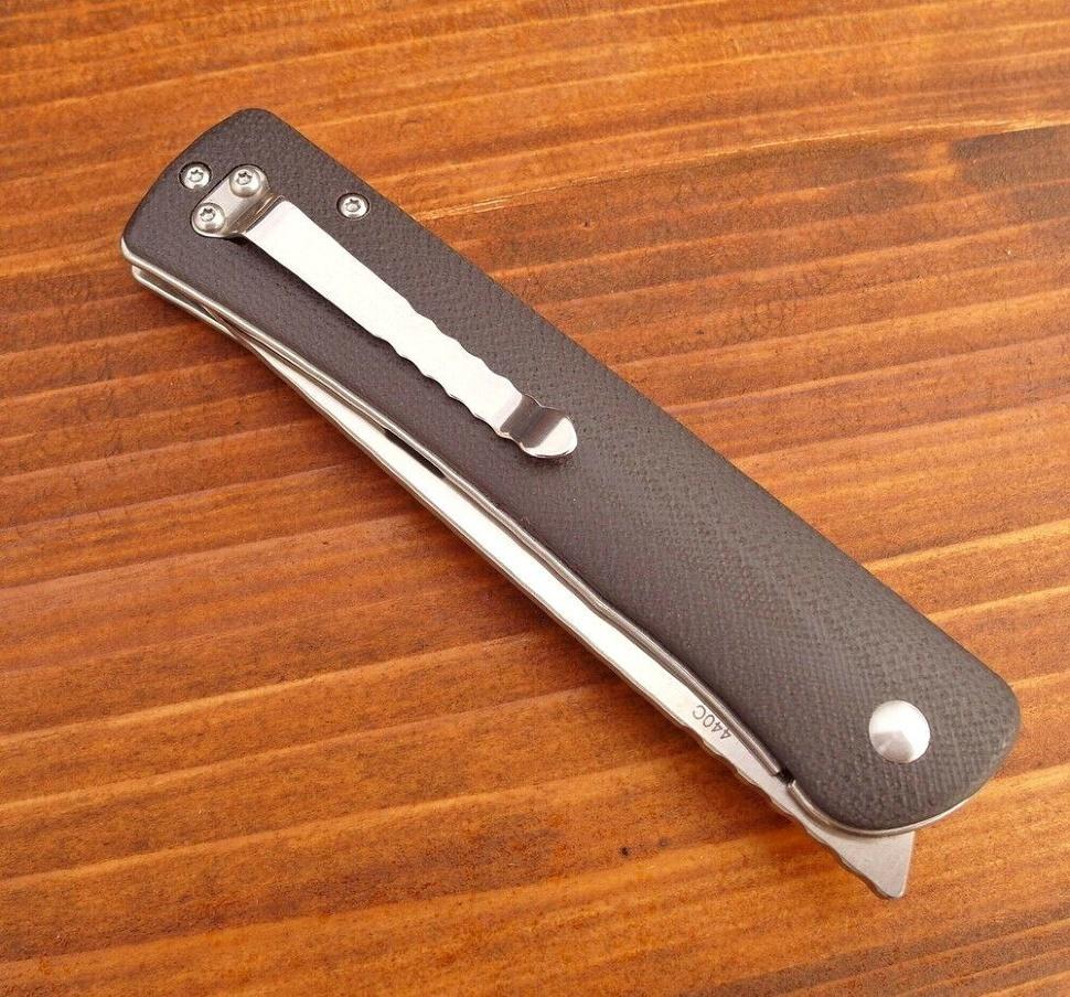 Фото 3 - Нож складной Boker Plus Komusubi, сталь 440C Satin Plain, рукоять стеклотекстолит G10, 01BO258