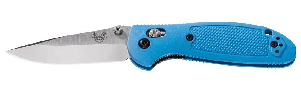 Фото 2 - Складной нож Mini Griptilian Blue от Benchmade