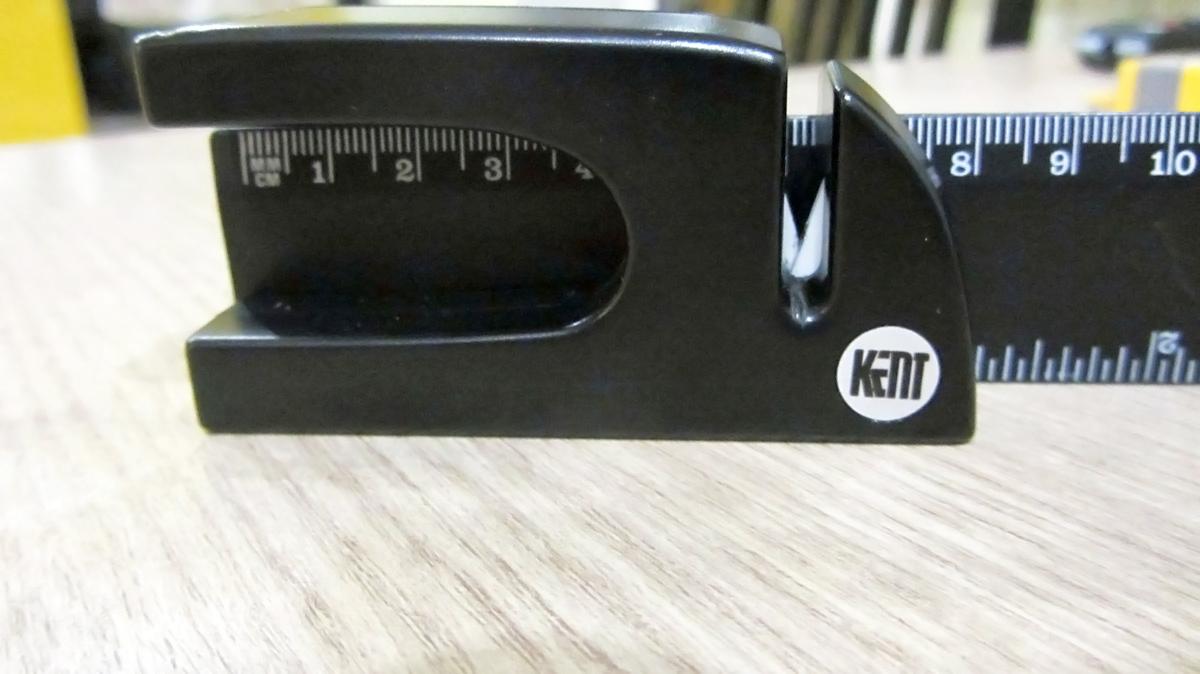 Фото 4 - Точилка керамическая, Tojiro, FK-408, черная