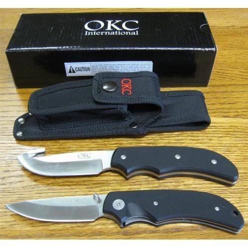 Фото 9 - Набор 2 ножа ONTARIO OKC International Hunters Kit