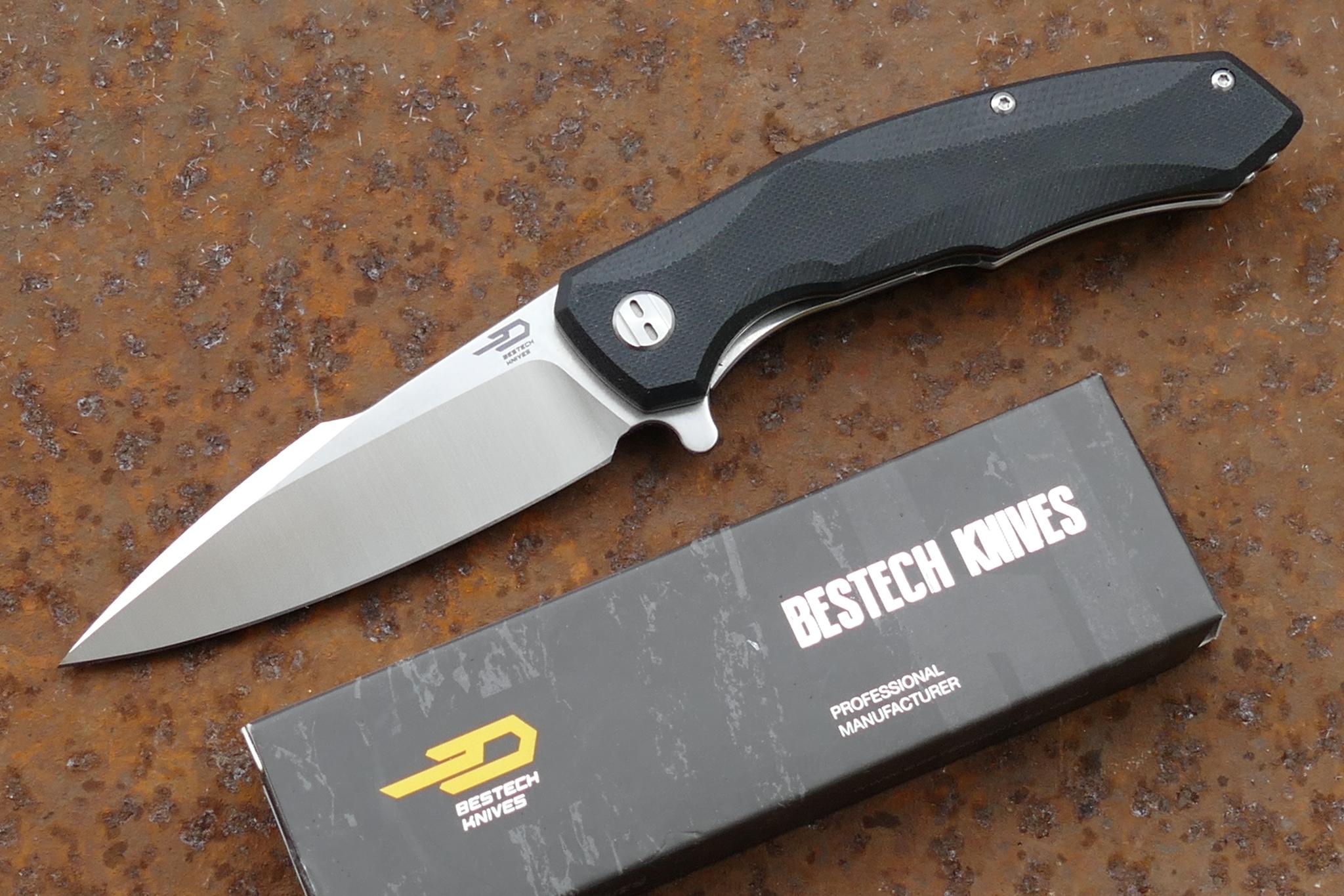 лучшая цена Складной нож Bestech Warwolf, сталь D2