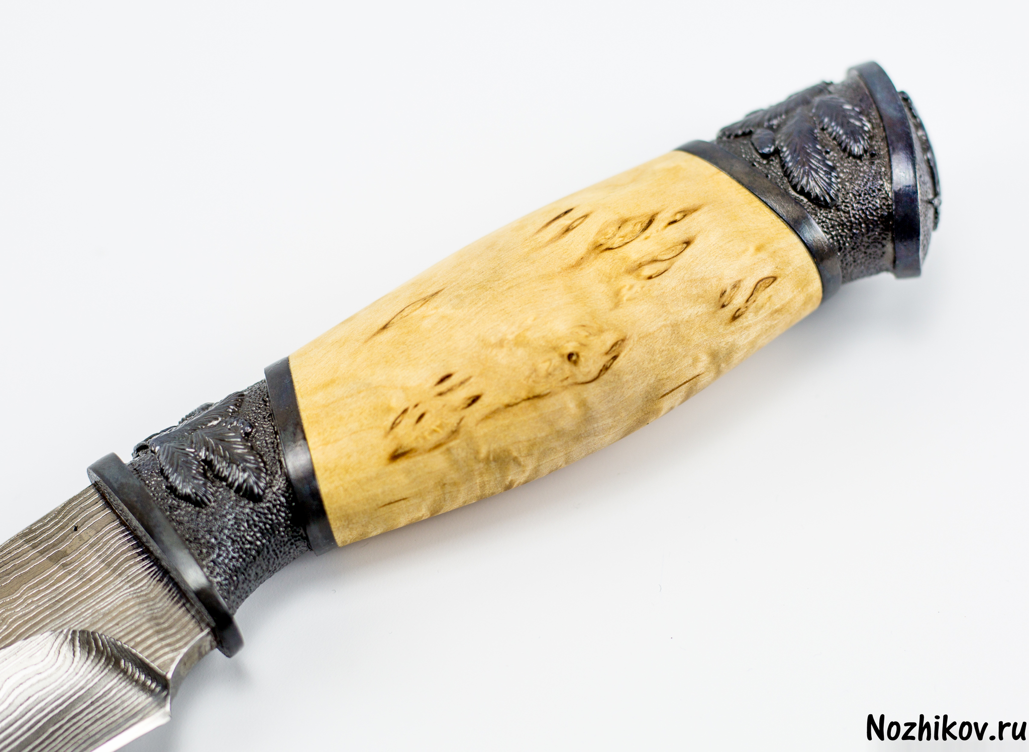 Фото 8 - Авторский Нож из Дамаска №23, Кизляр от Noname