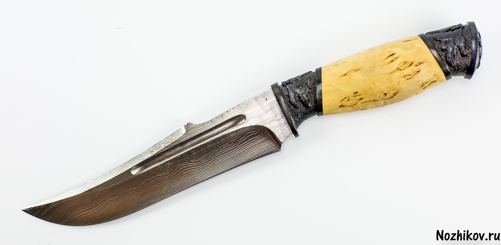 Фото 11 - Авторский Нож из Дамаска №23, Кизляр от Noname