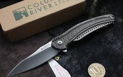Складной нож CRKT Ripple 2 Gray, сталь Acuto 440, рукоять нержавеющая сталь, фото 4