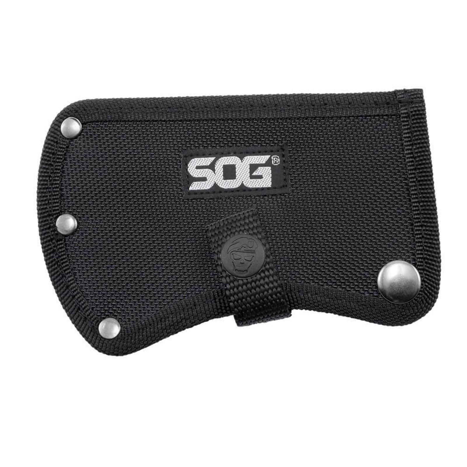 Фото 10 - Топор туристический Hand Axe - SOG F09, сталь 420 Black Oxide, рукоять G10, чёрный