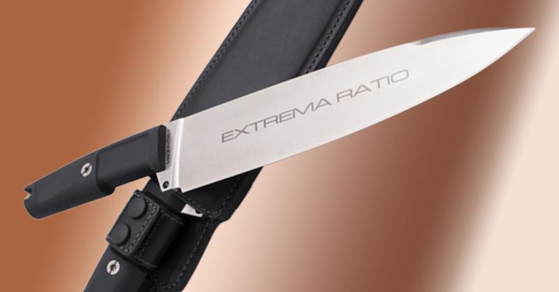 Фото 5 - Полевой поварской нож Extrema Ratio Psycho 24 Satin, сталь Bhler N690, рукоять Forprene®