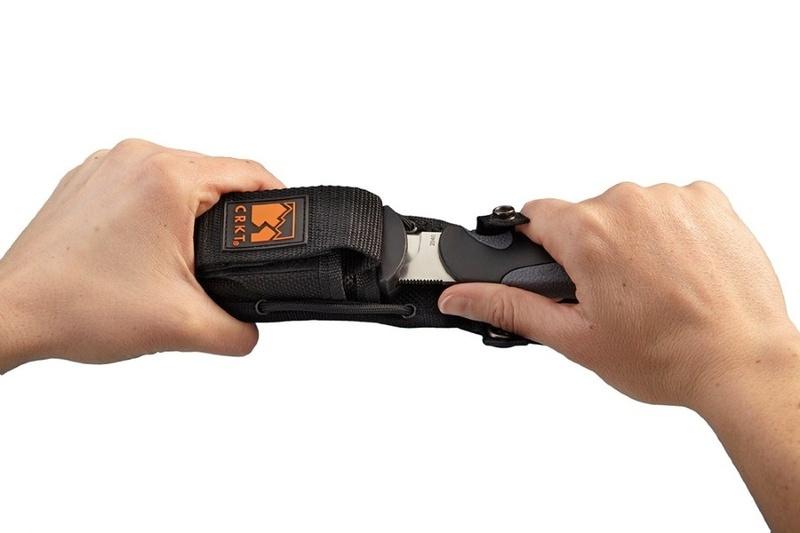 Фото 7 - Нож с фиксированным клинком Free Range Hunter Drop Point/Gut Hook от CRKT
