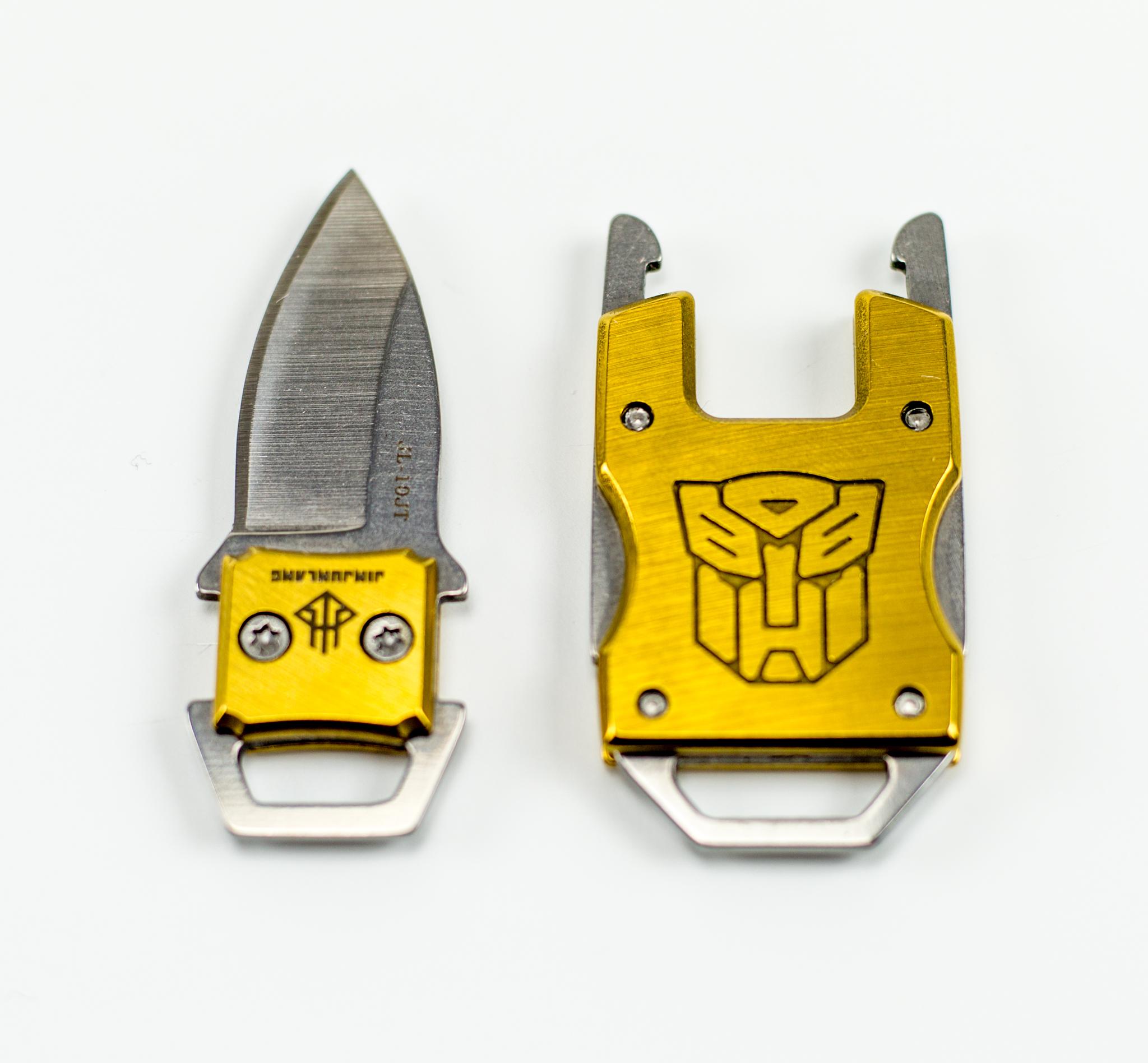 Фото 20 - Шейный нож Prime Gold от Noname