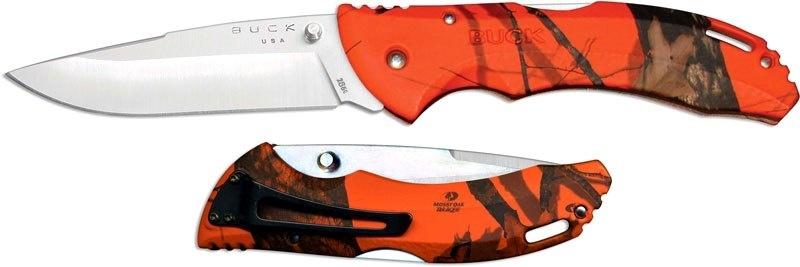 Фото 11 - Складной нож Buck Bantam BHW Mossy Oak Blaze Camo 0286CMS9, сталь 420HC, рукоять пластик